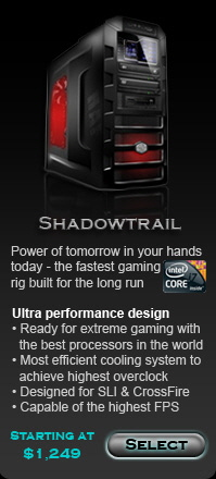 Shadowtrail Best Intel gaming computers