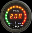 CPU Speed Temp Gauge