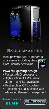 Skullsmasher custom gaming computer