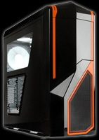NZXT Phantom Orange Trim Gaming case